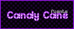 Candy Cane .-Font by Movimientodealegria