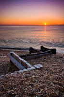Calshot Beach I by cardinal