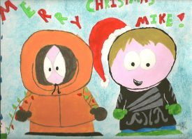 South Park Christmas by AquaNature10