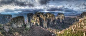 Meteora - Panorama III by roman-gp