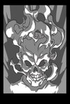 Ghost Rider sketch by AlexRedfish