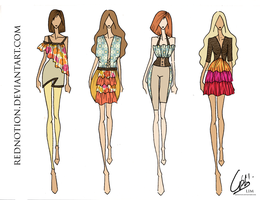 Spring Summer 2010 RTW MC2 by rednotion