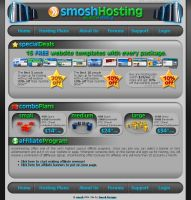 smoshHosting Site Design by smosh