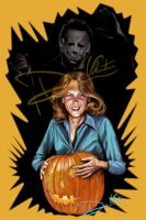 Halloween Michael and Laurie by Cordy5by5