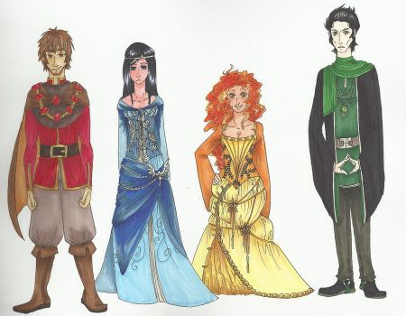 Wizarding Founders by ihazabutton