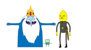 Adventure Time - MMD Unrigged Models by NipahMMD