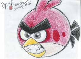 Angry Red scrap by Rovertarthead