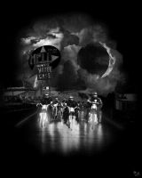 Hell on Wheels by mikeoncley
