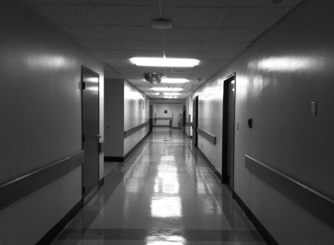 Hospital halls are like Hell by B1rk1n635