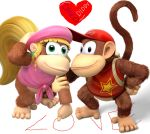 Diddy Kong and Dixie Kong - The Cutest Couple by DiddyKF1