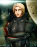 Commander Freya Shepard by OrbitalWings