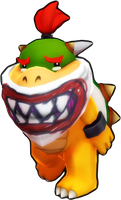 Sad Bowser Jr. Render by Elemental-Aura