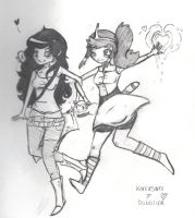 Korrasami but Bubbline Huh by CaptiveFawn