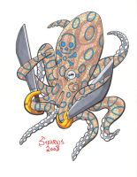 Blue Ringed Rocktopus by Gonad-The-Destroyer