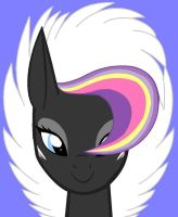 Aurora Flower Front view by Ponyness1