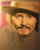 Johnny Depp - WIP by geraden22