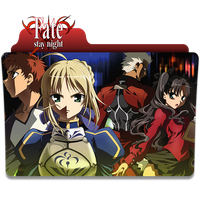 Fate Stay Night Folder Icon by Omegas82128