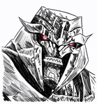 TFP Megatron Sketch by PDJ004