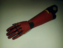 Punished Snake - bionic arm WIP by RBF-productions-NL