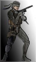 MGS4 Solid Snake by Eddie-Icchiro