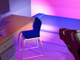 3D Room 2 by melissrrr