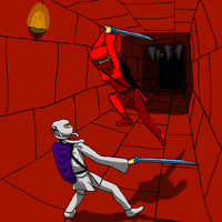 Super House of Dead Ninjas - Duel by Martin-Q