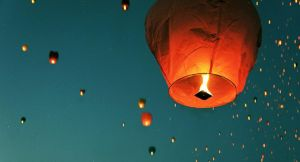 Chinese lantern by DXeL
