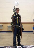 Comiccon Fallout Cosplay 2 by pshbling