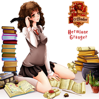 Hermione Granger by M-3-1