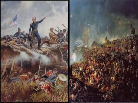 1812 War 205yrs later and Waterloo 202yrs later. by BritishKnight1788