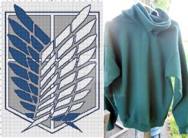 Attack on Titan Hoodie by SarahPixel