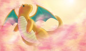 dragonite by SadowWolfKACT