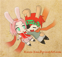 Bunny Love by karen-xan