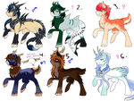 MLP Adopts [CLOSED - Lowered Prices] by SidStraws