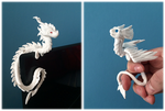Dragon laptop decorations by CreatureCrafts
