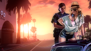 GTA V -2- ART IN MOTION Series by Ferino-Design