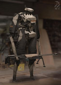 Robot Sniper. by duster132