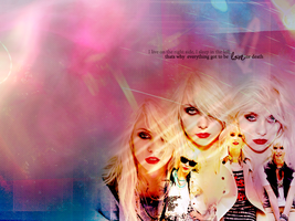 Taylor Momsen Wallpaper by inacloudyday