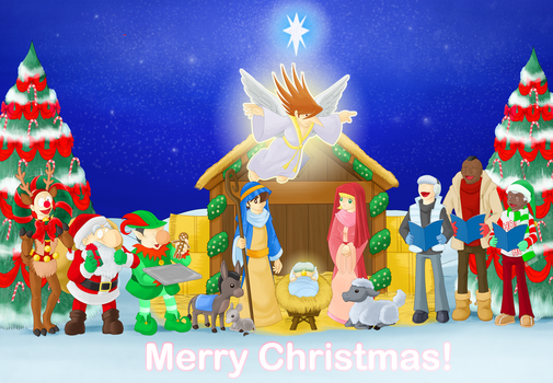 A Very Merry Cyborg 009 Christmas by Schreibaby-Zephyr