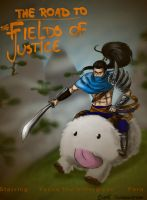 Yasuo movie poster contest entry by Herami