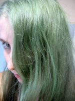 Self portrait :: Green 001 by Armenius