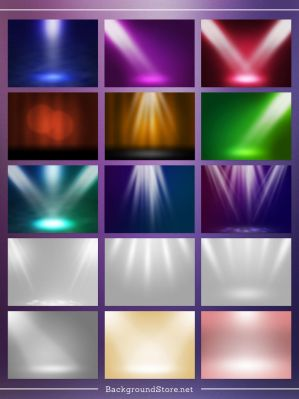 Spotlight Backgrounds Set by BackgroundStore