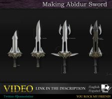 Making albdur Sword by JesusAConde