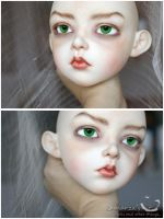 Lusion Dahlia faceup commission by kamarza