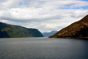 Sailing the fjords to Skjolden 39 by abelamario