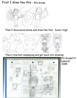 OLD: How I USED to draw.. by TheRebelPhoenix