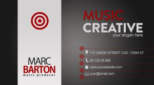 Music Business Card by Cech1330