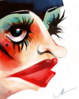 LIZA MINNELLI\SALLY BOWLES CARICATURE by JALpix