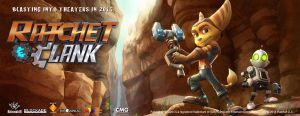 Ratchet and Clank - Movie Banner by Caprice1996