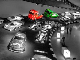 Mercedes Benz Museum by cyberfish128